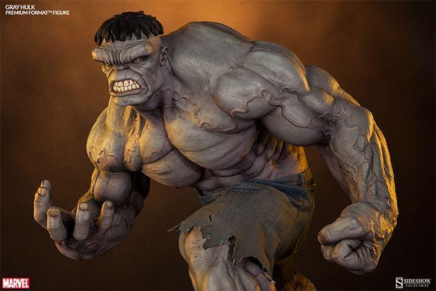 Action Figures: Marvel, DC, etc. Gray-Hulk-Premium-Format-07