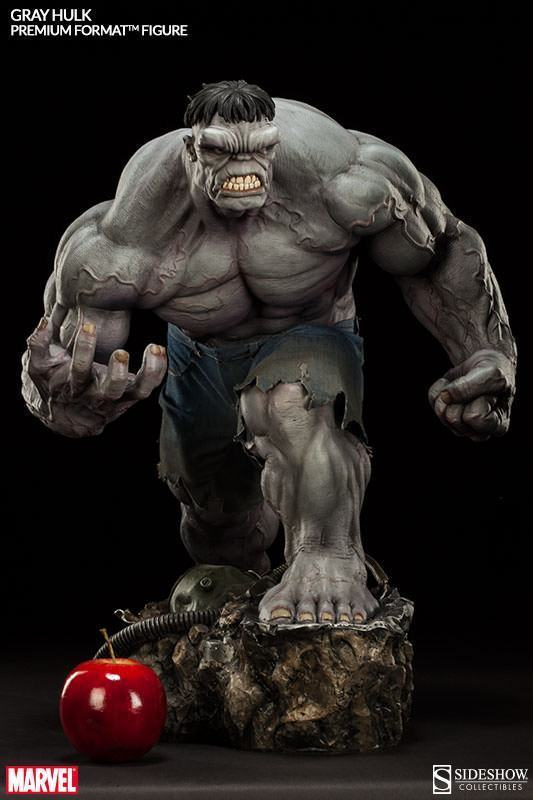 Action Figures: Marvel, DC, etc. Gray-Hulk-Premium-Format-08