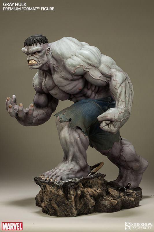 Action Figures: Marvel, DC, etc. Gray-Hulk-Premium-Format-09