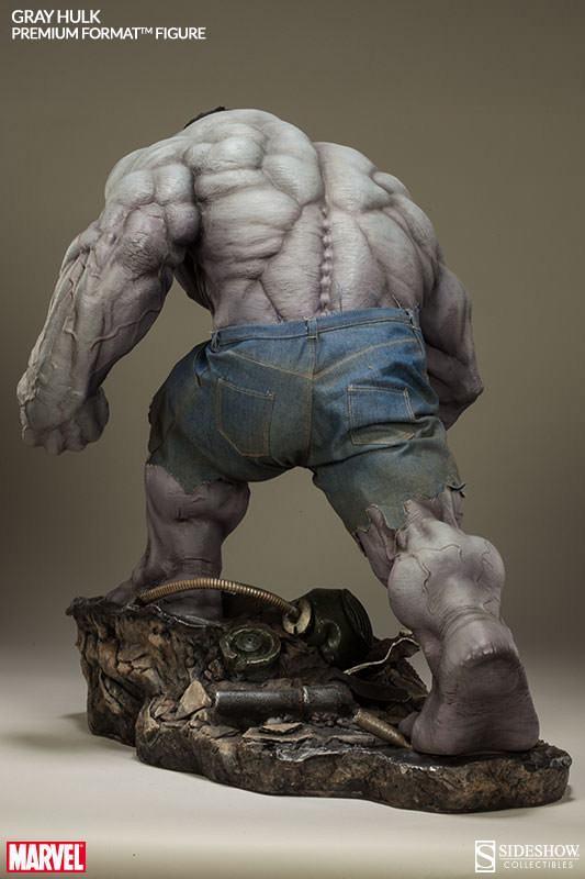 Action Figures: Marvel, DC, etc. Gray-Hulk-Premium-Format-10