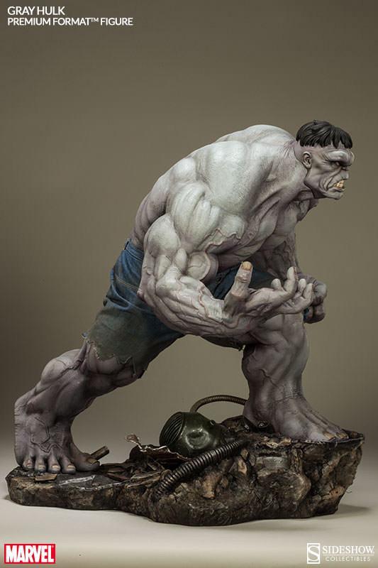 Action Figures: Marvel, DC, etc. Gray-Hulk-Premium-Format-11