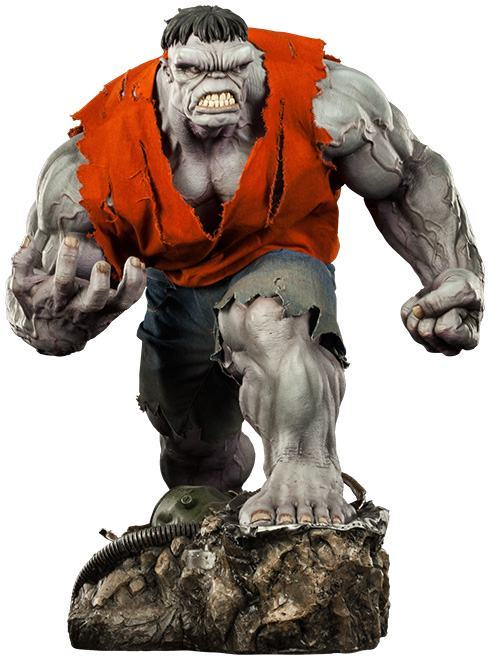 Action Figures: Marvel, DC, etc. Gray-Hulk-Premium-Format-13