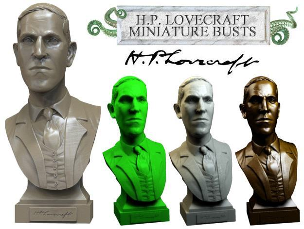 H-P-Lovecraft-Miniature-Bust-Sculpture-01