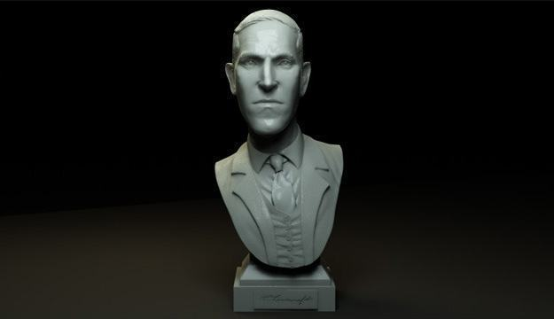 H-P-Lovecraft-Miniature-Bust-Sculpture-03