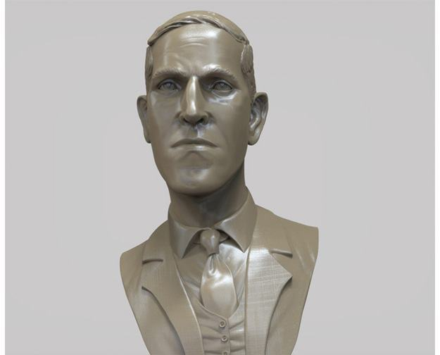 H-P-Lovecraft-Miniature-Bust-Sculpture-05