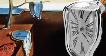 A Persistência da Memória: Relógio Derretido de Salvador Dalí