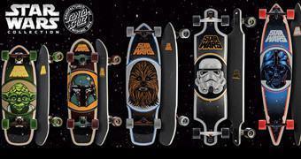 Skates Star Wars: Yoda, Boba Fett, Chewbacca, Stormtrooper e Darth Vader