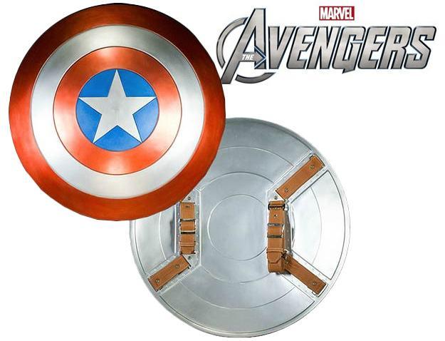 Favoritos Réplica Perfeita do Escudo do Capitão América em Os Vingadores  VA29