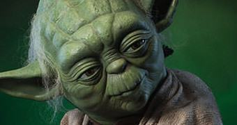 Estátua Mestre Yoda em Tamanho Real! (May the 4th be with You!)