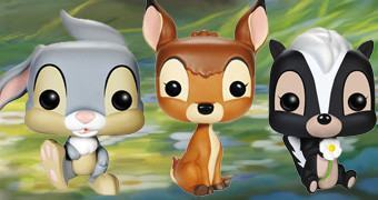 Bonecos Funko Pop! do Filme Bambi da Disney!