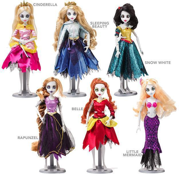 Bonecas-Princesas-Disney-Zumbis-Once-Upon-a-Zombie-Dolls-01