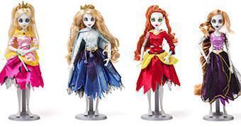 Bonecas Princesas Disney Zumbis!