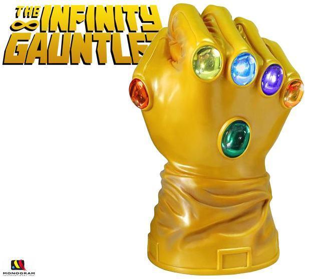 Cofre Manopla do Infinito de Thanos - Mundo Nerd Info