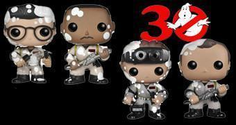 Bonecos Ghostbusters Pop! Exclusivos para a San Diego Comic-Con 2014