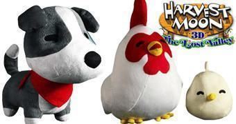 Bonecos de Pelúcia do Game Harvest Moon: The Lost Valley