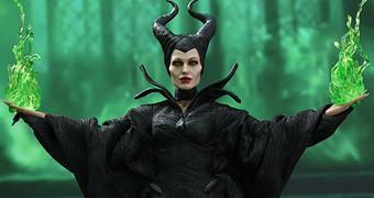Angelina Jolie como a Bruxa Malévola – Action Figure Perfeita Hot Toys