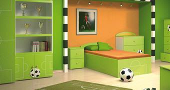 Transforme o Quarto das Crianças num Campo de Futebol para a Copa do Mundo 2014