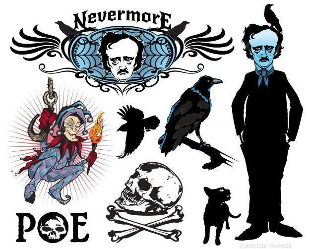 Tatuagens-Edgar-Allan-Poe-Temporary-Tatoos-03