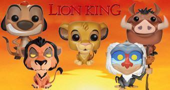 Bonecos Funko Pop! O Rei Leão
