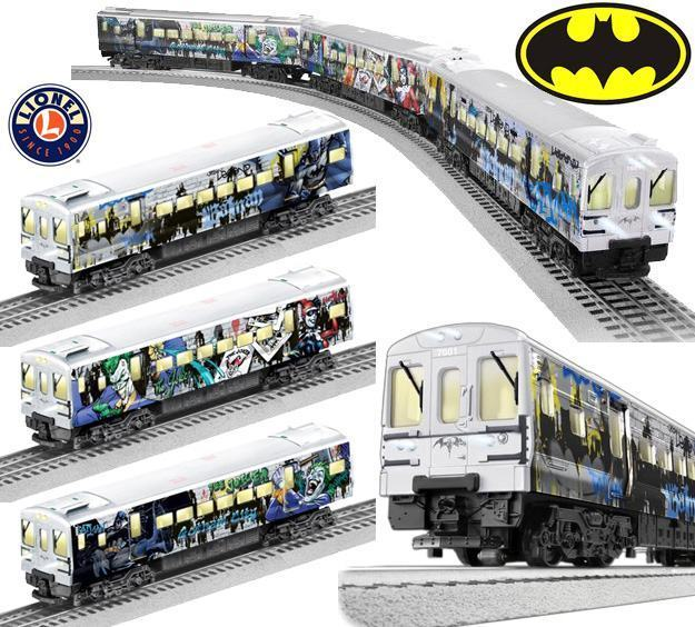 Trem-Eletrico-Lionel-DC-Batman-M7-Subway-Train-Set-01