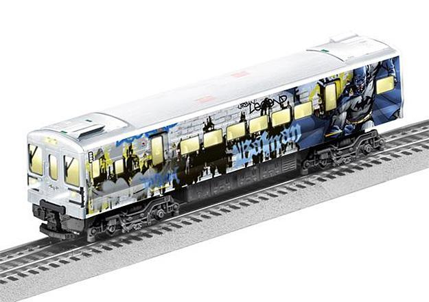 Trem-Eletrico-Lionel-DC-Batman-M7-Subway-Train-Set-08