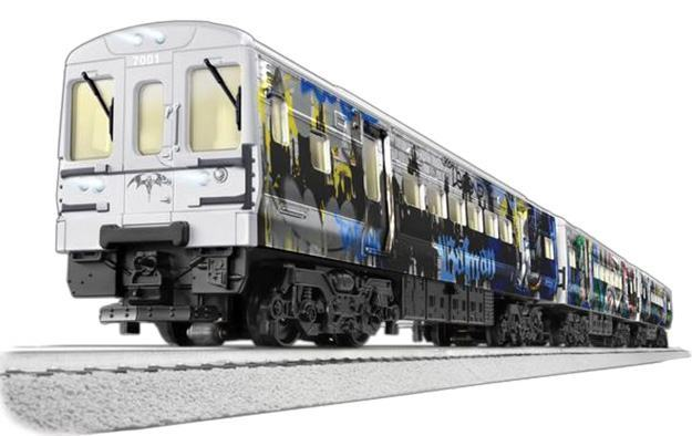 Trem-Eletrico-Lionel-DC-Batman-M7-Subway-Train-Set-09