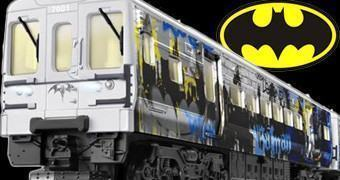 Trem Elétrico Batman: Metrô de Gotham City!