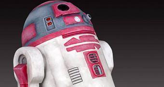 Maquete Star Wars: Astromech Droid R2-KT (Rosa)