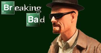 Figura Breaking Bad Walter White com Nariz Quebrado!