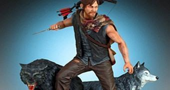 The Walking Dead: Estátua Daryl e os Lobos da Gentle Giant