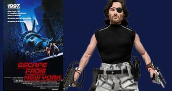 Fuga de Nova York: Action Figure de Kurt Russel como Snake Plissken!