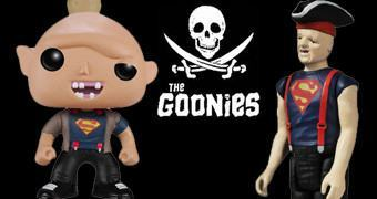 Os Goonies: Bonecos do Sloth com Camiseta do Superman