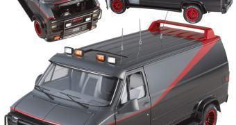Furgão da Série Esquadrão Classe A em Escala 1:18 – Hot Wheels Elite
