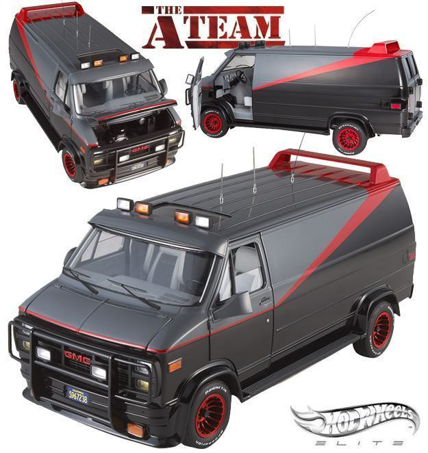 c22f14437 Furgao-A-Team-Classic-Van-Hot-Wheels-Elite-