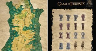 Game of Thrones: Mapa Magnético de Westeros