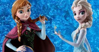 Bustos Disney Grand Jester Frozen: Anna & Elsa