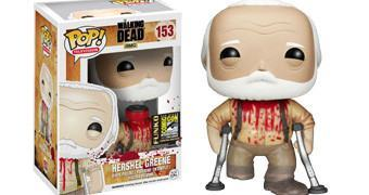 Boneco Funko Pop! The Walking Dead: Hershel Greene de Muletas!