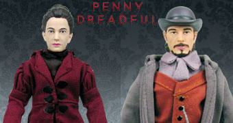 Action Figures da Série Penny Dreadful: Vanessa Ives e Ethan Chandler