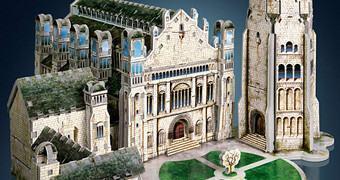 O Senhor dos Anéis: Quebra-Cabeça 3D Citadela Minas Tirith