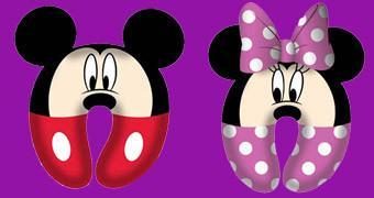 Almofadas de Pescoço Mickey e Minnie