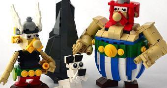 LEGO: Astérix, Obelix e Ideafix