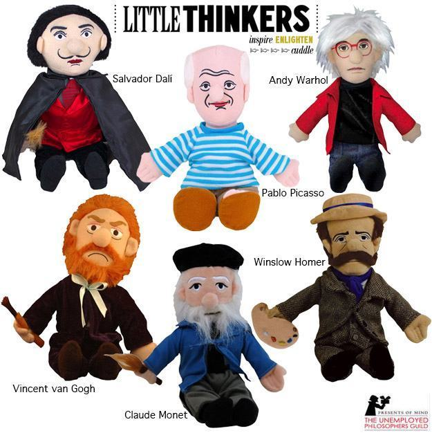 Bonecos-Pelucia-Little-Thinkers-Great-Painters-01