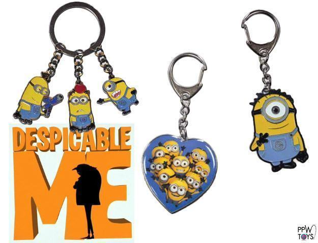 Chaveiros-Despicable-Me-Minions-Die-Cast-Metal-Key-Chain-Set-01