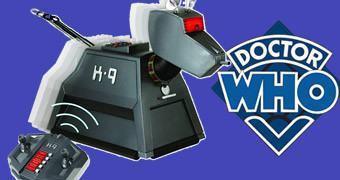 Doctor Who: Cão Robótico K-9 com Controle Remoto