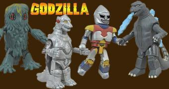 Godzilla Minimates Série 2