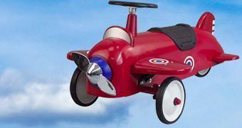 Andadores de Bebê Estilo Retro: Avião e Foguete!