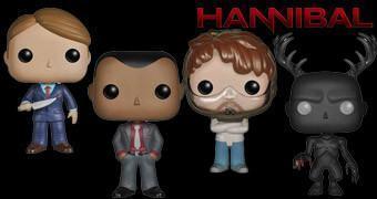 Bonecos Pop! da Série Hannibal