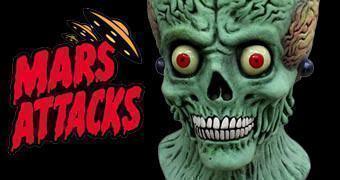 Máscara do Soldado Marciano de Mars Attacks!