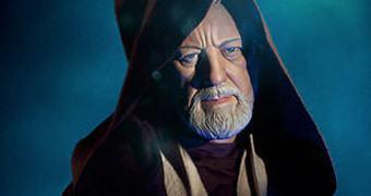 Estátua Obi-Wan Kenobi Legendary Scale 1:2 com 1mt de Altura!