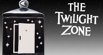 Pote de Cookies Além da Imaginação: The Twilight Zone Cookie Jar